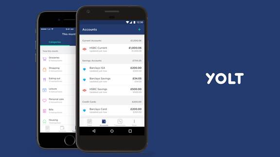 Yolt mobile money App - Kin + Carta